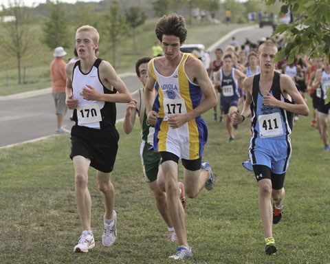 Pickett leads men's cross country team to first victory in eight years