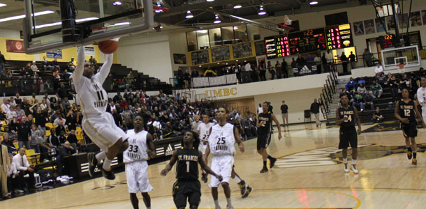 Men's basketball wins first 'A' conference championship title in school history