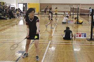 Badminton smashes St. Tim's School