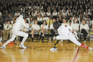 Students hope to make the cut at USA Fencing National Championships