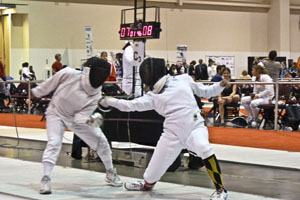 Students lunge into national fencing competition