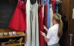 Religion teacher offers pageant gowns for Ring Dance, Senior Prom