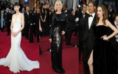 Academy Awards style calls for simple formal styles