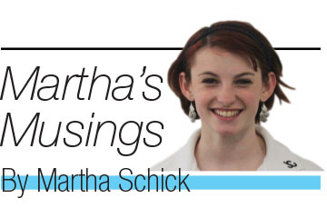 Martha's Musings: Speakers should spark discussion in classrooms