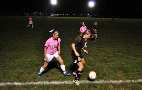 Women's varsity soccer defeats Spalding for first time in six years