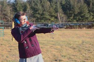 Editor faces fears, shoots firearm