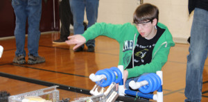 Robotics team places ninth at Havre de Grace tournament