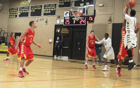 Men's basketball defeats Calvert Hall in close play off game