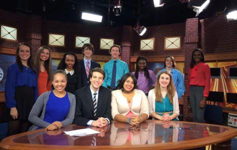 Seniors pursue broadcast journalism passion with ABC2 News Teen Media Project