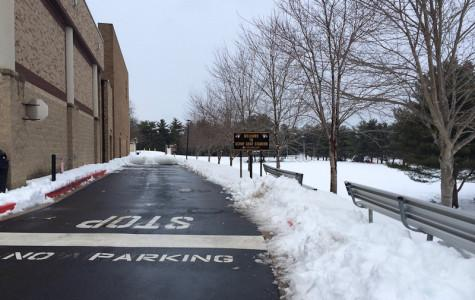 Winter weather freezes students' class time