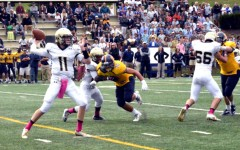Varsity football falls to St. Paul's
