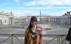 Alumna explores the world