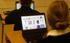 Students spend free time online shopping