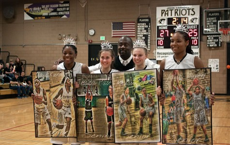 Week In Pictures: Girls Basketball Senior Night, Wrestling, Holocaust Day