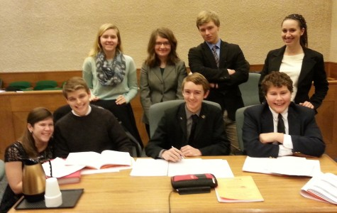Mock Trial team competes on large scale