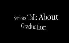 Seniors show feelings about graduation