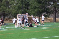 Women's lacrosse falls short in first home game on new turf