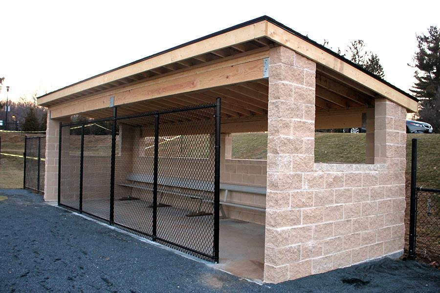 Baseball Dugout Bedroom Designs: The Patriot : Dugouts Finalized For Start Of Spring Season