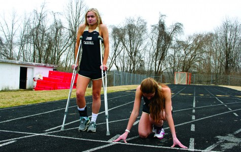 Women's track stars' injuries impede seasons