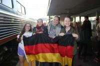 German exchange students arrive this week