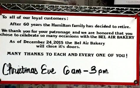 Bel Air Bakery hangs up the apron