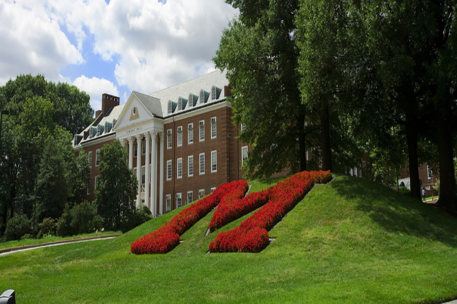 Symons Hall, an addition to the campus in 1948, was named after Thomas B. Symons. Symons was the Dean of Agriculture and the building holds agricultural classes and lectures.