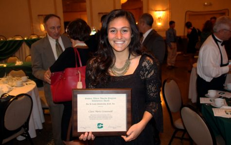 Two student athletes recognized with Cesky Scholarship