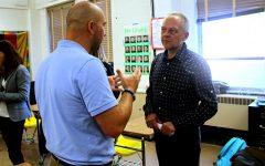 German teacher hired, exchange rescheduled