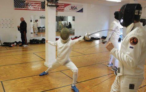 Freshman fences to Junior Olympics