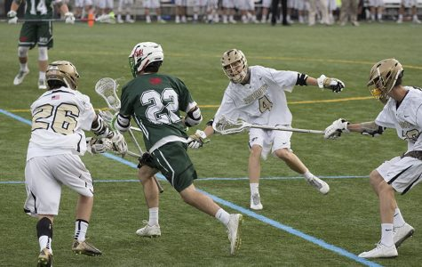 Week in Pictures: Chris Herren, lacrosse, Patriot celebration dinner, and Senior Project presentations