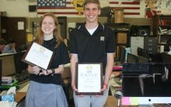The Patriot staff members win awards