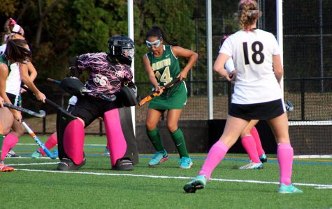 Field hockey goalie's performance earns national attention