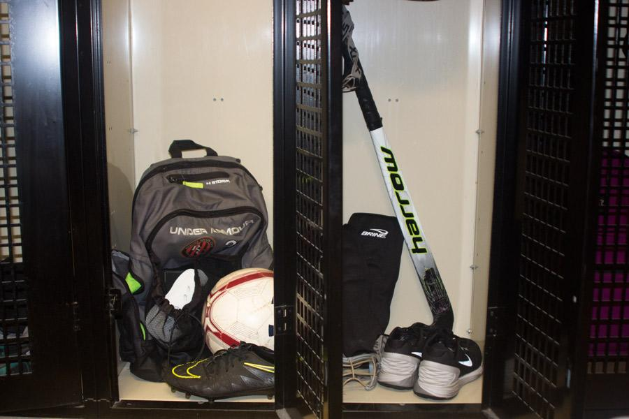 This year the varsity field hockey and soccer teams will be sharing a large locker room, in contrast to previous years, when varsity soccer was the only fall sports team to use this locker room. After a second B Conference Championship win, varsity field hockey felt they deserved to have this privilege as well, and the teams compromised and agreed to share.