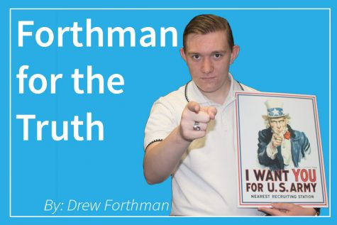 Forthman for the Truth: If you don't support the military, you aren't a real American