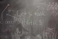 Chalk-talking politics? Sports rant about political issues