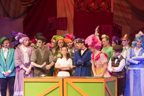 Theatre department performs 'Mary Poppins'