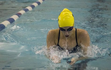 Junior excels on first high school swim team