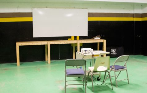 Old storage room provides new film room for teams
