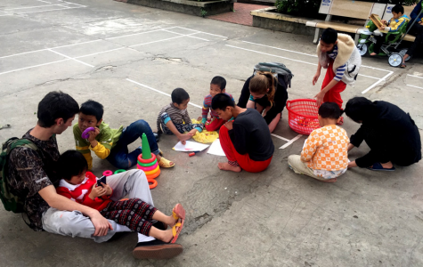 Senior builds relationship with children in Vietnam