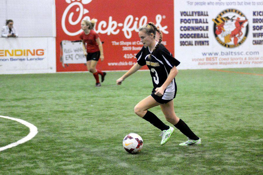 Indoor soccer claims title