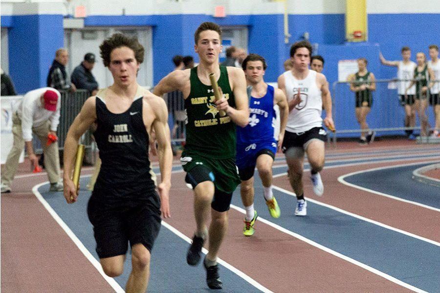 Indoor track and field excels at championships