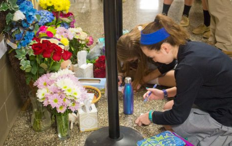 Memorial prayer service, letters for Josh Hamer, Holocaust Remembrance Day, dogs, and the fashion show