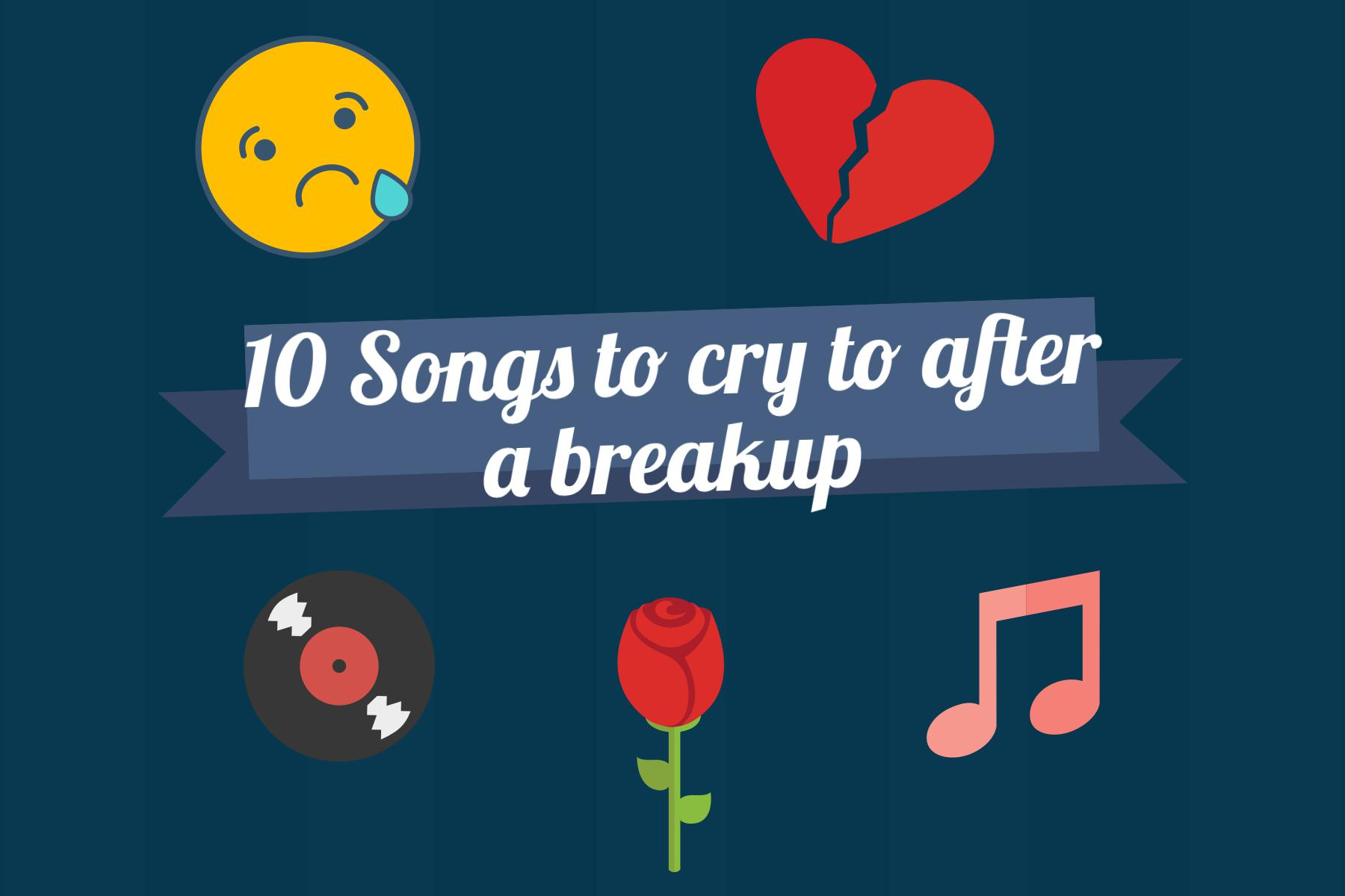 Here's a playlist for anyone who has a broken heart and needs to listen to the best tear-jerker songs as they wallow in self pity. Nothing is more cathartic than confronting ones emotions and having a good cry to get over their significant other.