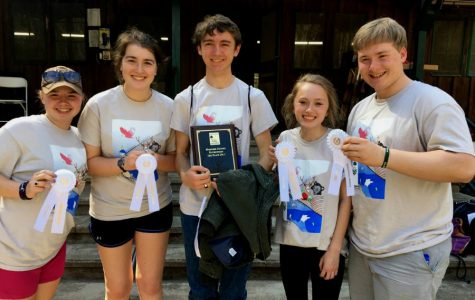 Envirothon team succeeds in local competition