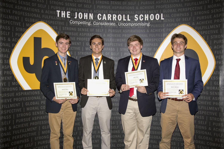 The class of 2017 receives senior awards