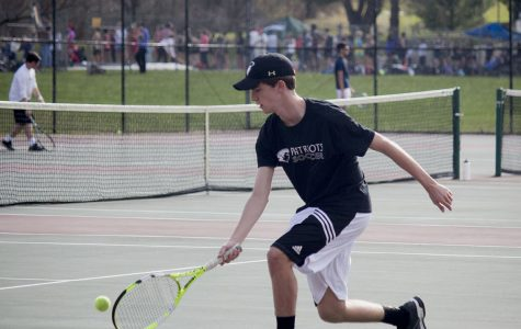 Tennis team focuses on rebuilding