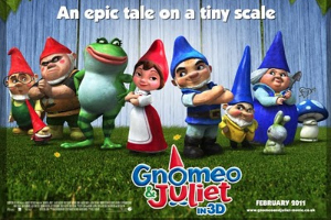 Gnomeo and Juliet delights audiences