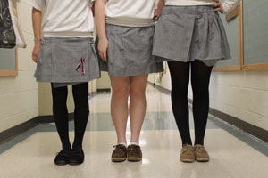 Uniform checks in class distract from learning