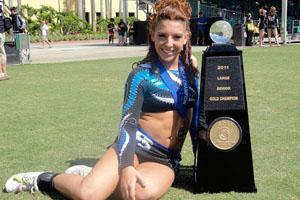 DiPaula wins world cheerleading title