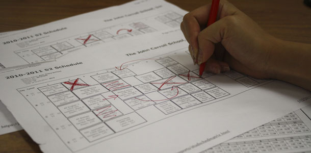 Course changes affect options for student scheduling
